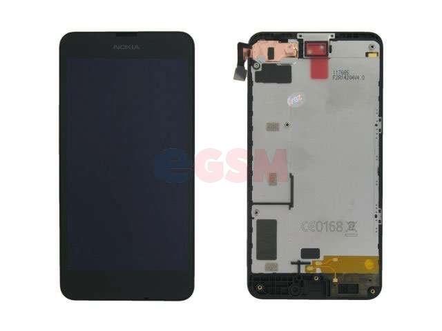 Display cu touchscreen si rama Nokia 630 Lumia, 635 Lumia