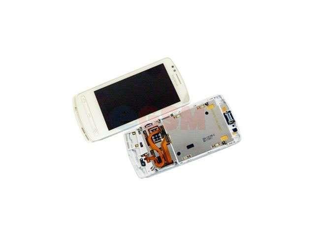 Display cu touchscreen si rama Nokia 700 alb