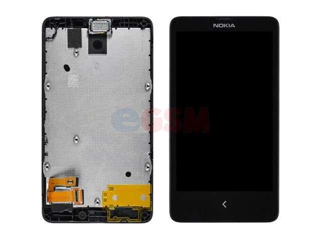 Display cu touchscreen si rama Nokia X A110