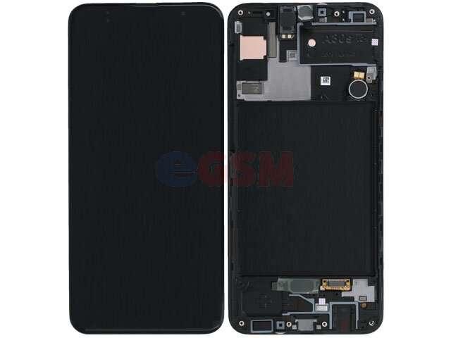 Display cu touchscreen si rama Samsung SM-A307F, Galaxy A30S original