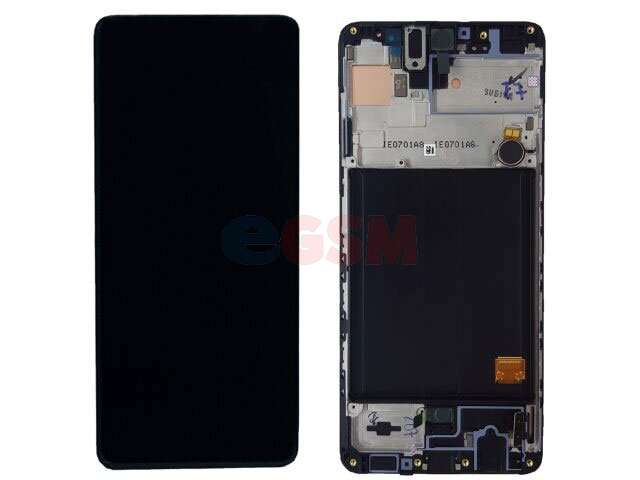 Display cu touchscreen si rama Samsung SM-A515F, Galaxy A51 original