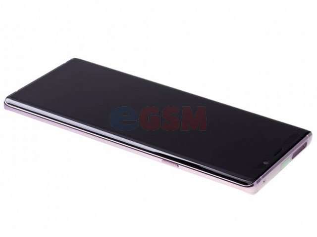 Display cu touchscreen si rama Samsung SM-N960F Galaxy Note 9 violet