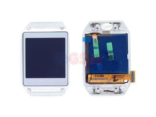 Display cu touchscreen si rama Samsung SM-V700 Galaxy Gear argintiu