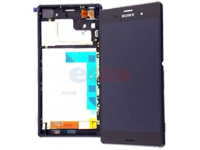 Display cu touchscreen si rama Sony E6533, Xperia Z3 Plus, E6553, Z3 Plus Dual, Xperia Z4