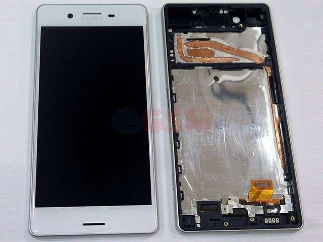 Display cu touchscreen si rama Sony F5121 Xperia X, F5122 Xperia X Dual alb