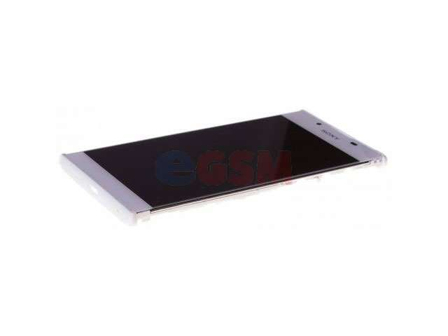 Display cu touchscreen si rama Sony G3311, G3312, G3313, Xperia L1 alb