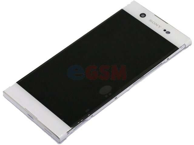 Display cu touchscreen si rama Sony Xperia XA1 Ultra, G3221, G3212, G3223, G3226 alb