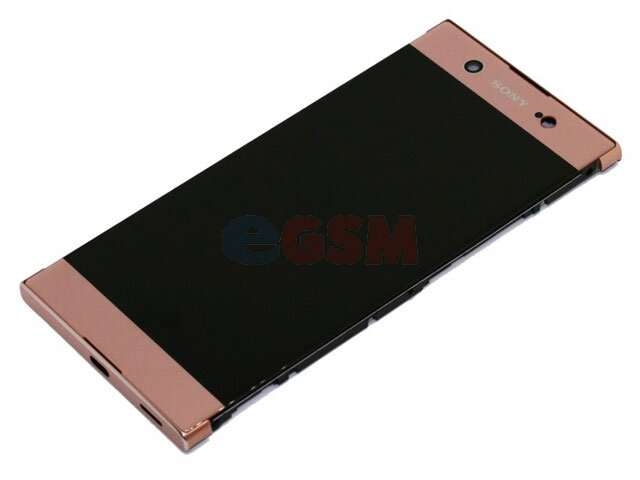 Display cu touchscreen si rama Sony Xperia XA1 Ultra, G3221, G3212, G3223, G3226 roz