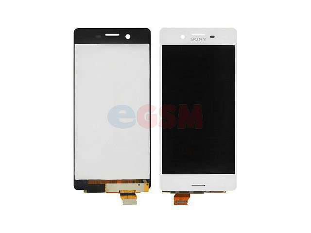 Display cu touchscreen Sony F5121 Xperia X, F5122 Xperia X Dual alb