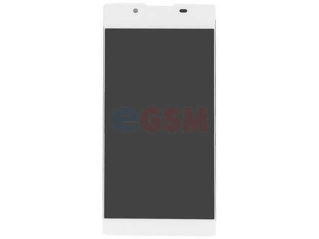 Display cu touchscreen Sony G3311, G3312, G3313, Xperia L1 alb
