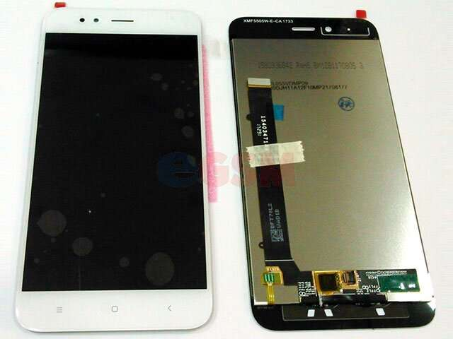 Display cu touchscreen Xiaomi Mi A1 (Mi 5X) alb