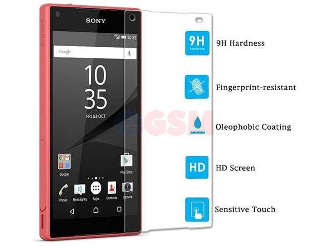 Folie sticla securizata Sony E6853 Xperia Z5 Premium, E6833, E6883 Xperia Z5 Premium Dual