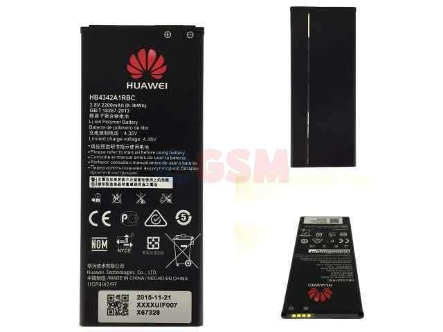 Acumulator Huawei HB4342A1RBC original pentru Huawei Y6, Huawei Honor 5 Play, Huawei Honor 5, Huawei Y5II
