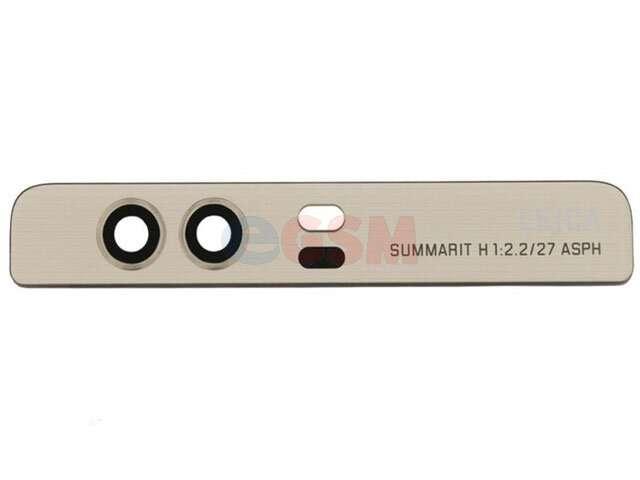 Geam camera Huawei VIE-L09, VIE-L29, P9 Plus auriu
