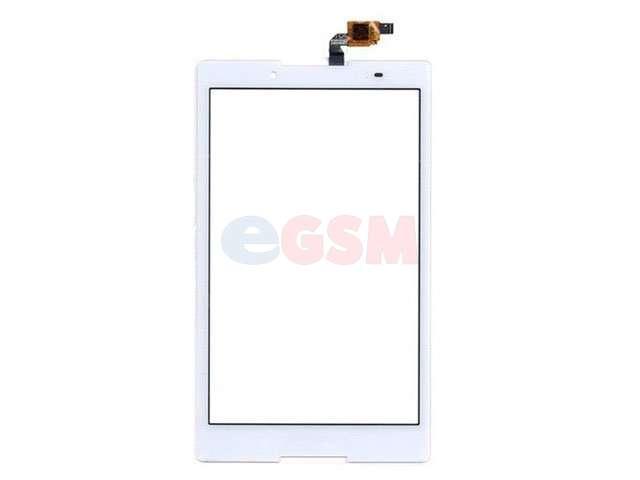 Geam cu touchscreen Lenovo Tab3 8, Tab3-850, Tab3-850F, Tab3-850M alb