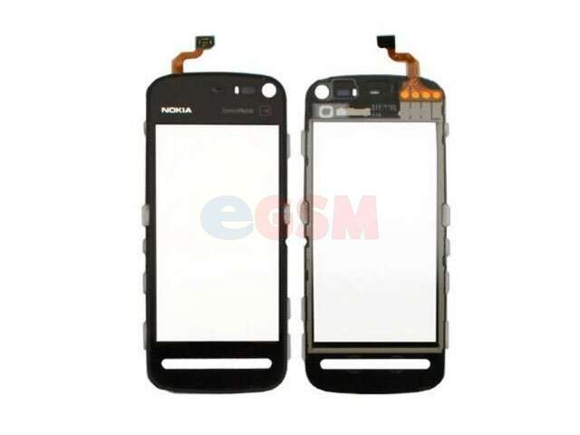 Geam cu touchscreen Nokia 500, 5800, C5-03, C6, N97 Mini, X6, 5230