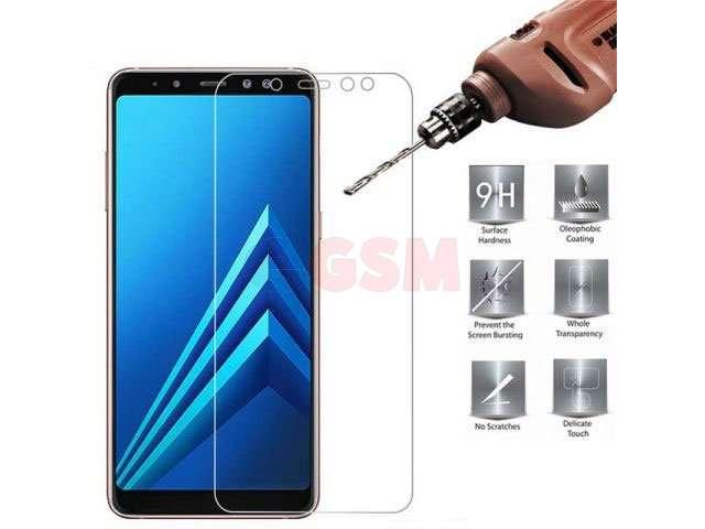 Geam protectie 0.2mm touchscreen Samsung SM-A605F, Galaxy A6 Plus 2018, SM-A730F, Galaxy A8+ 2018 transparent bulk