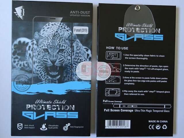 geam protectie display sticla 6d full glue huawei p smart 2019