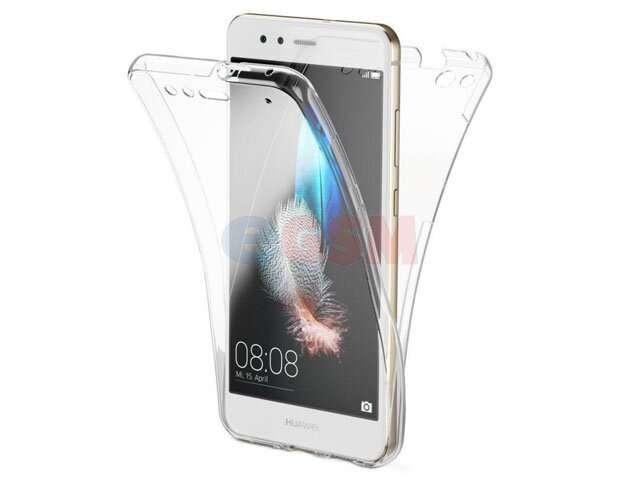 Husa fata + spate 360° TPU transparent Samsung SM-A105F Galaxy A10