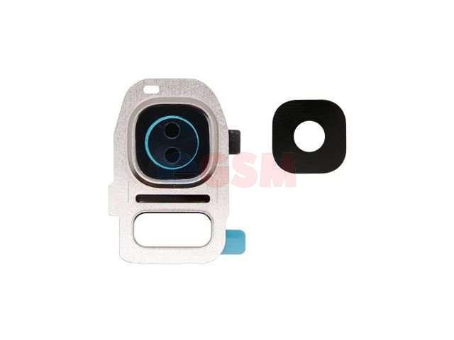 set inlocuire geam camera samsung sm-g935f galaxy s7 edge auriu