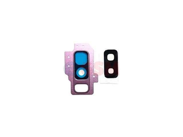 Kit inlocuire geam camera Samsung SM-G965F Galaxy S9+ violet