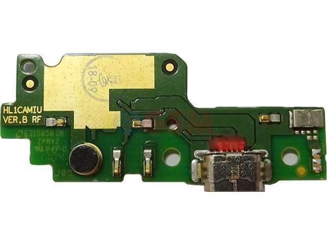 Placa cu conector alimentare si date Huawei Y6II Compact, Honor 5A, LYO-L01