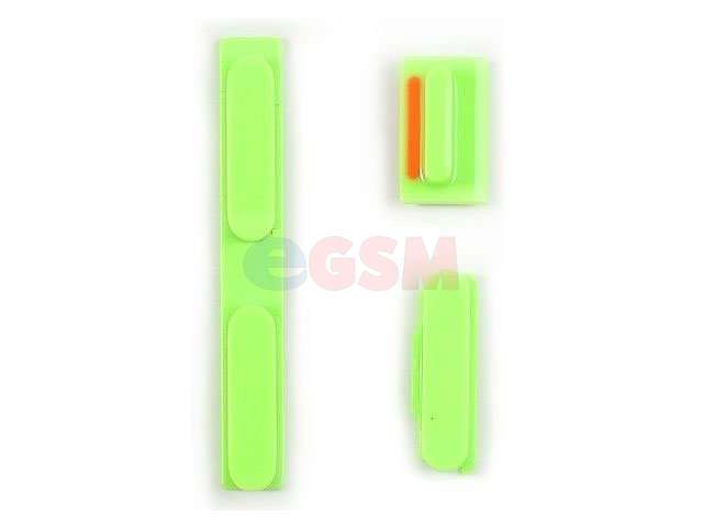 Set butoane laterale Apple iPhone 5C verziE
