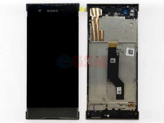 Display cu touchscreen si rama Sony Xperia XA1, G3121, G3123, G3125, Xperia XA1 Dual, G3112, G3116