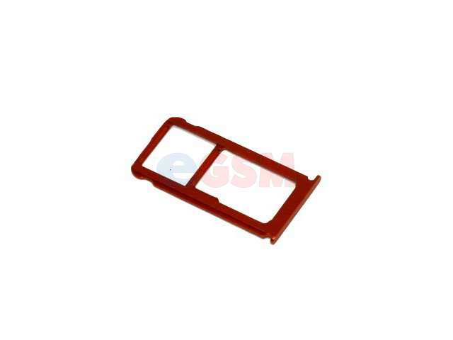 Suport sim si card Nokia 7 Plus portocaliu, TA-1062, TA-1046, TA-1062, TA-1055
