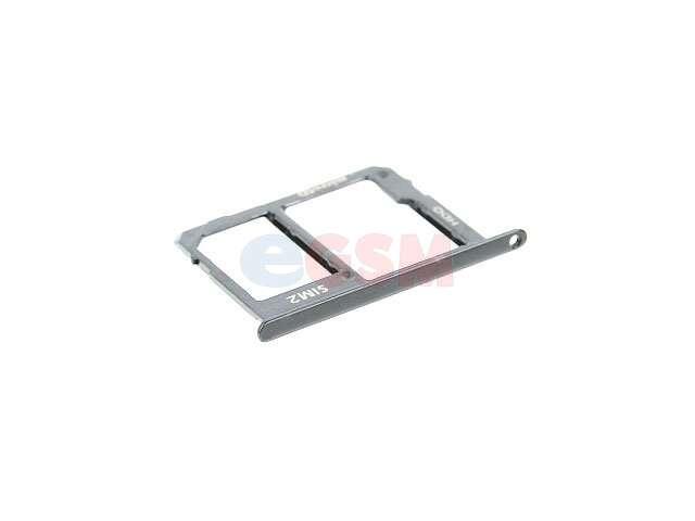 Suport sim si card Samsung SM-A600F Galaxy A6 2018, SM-A605F Galaxy A6 Plus 2018 gri