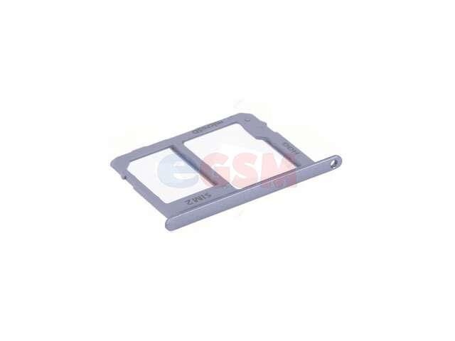 Suport sim si card Samsung SM-A600F Galaxy A6 2018, SM-A605F Galaxy A6 Plus 2018 violet