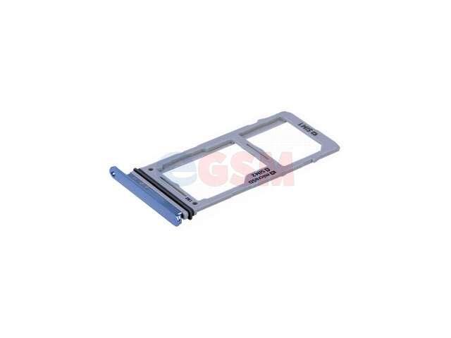Suport sim si card Samsung SM-G975F Galaxy S10+ albastru