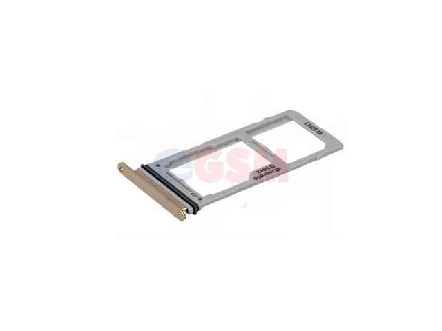 Suport sim si card Samsung SM-G975F Galaxy S10+ auriu