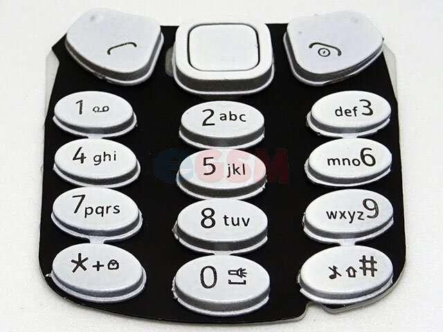 Tastatura Nokia 3310 2017 argintiea
