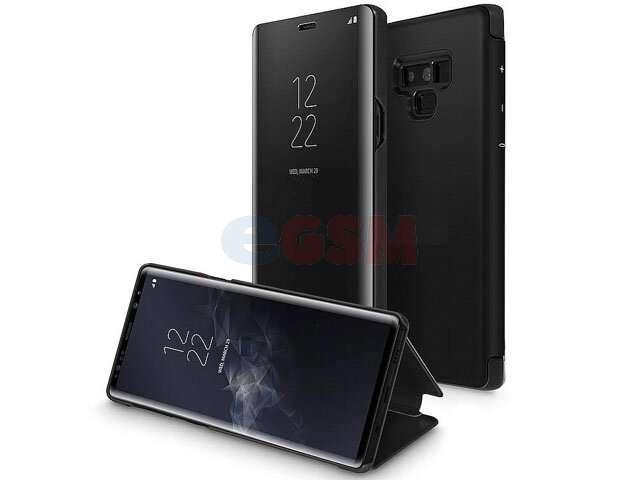 Toc clear view mirror negru Huawei P20 Lite, ANE-LX1