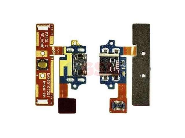 Banda cu conector alimentare si date LG E980, E985, F240