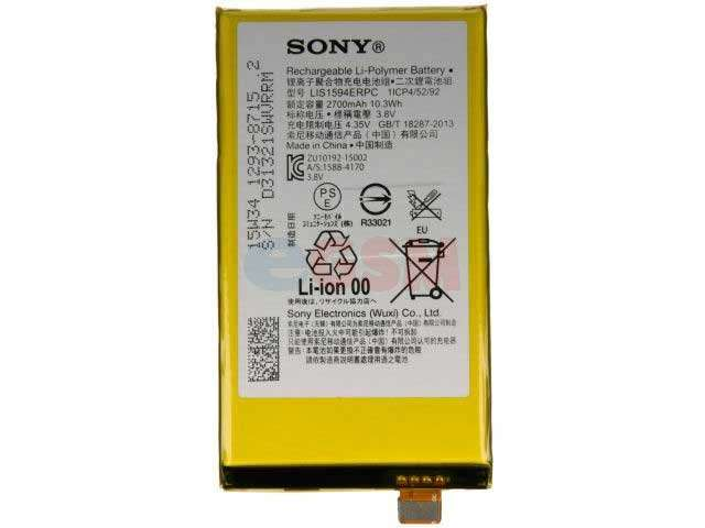 acumulator sony lis1594erpc original pentru sony xperia xa ultra sony xperia z5 compact