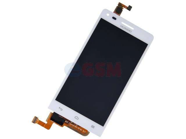 Display cu touchscreen Huawei Ascend G6 4G, Orange Gova alb Original