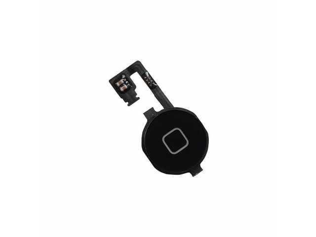 ansamblu buton meniu home extern si buton meniu home microcontact apple iphone 4 original
