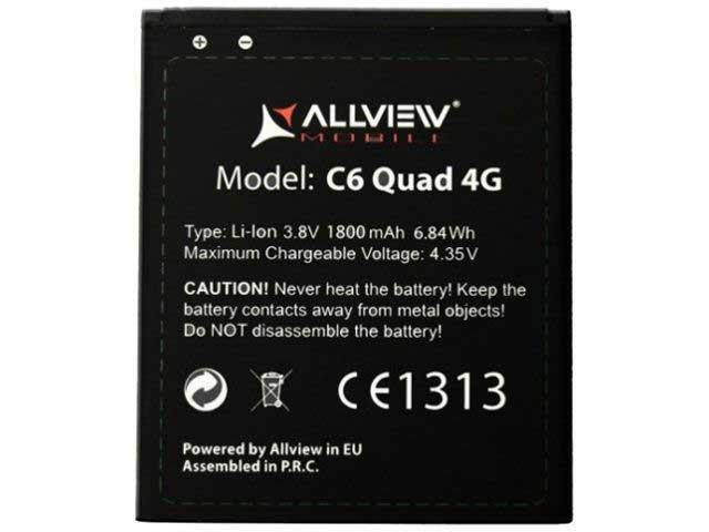 Acumulator Allview C6 Quad 4G original