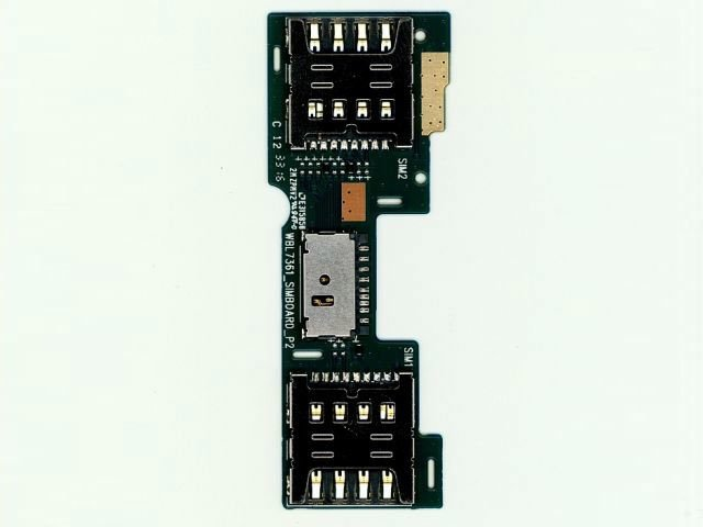 placa cu cititor sim si card allview p9 energy mini