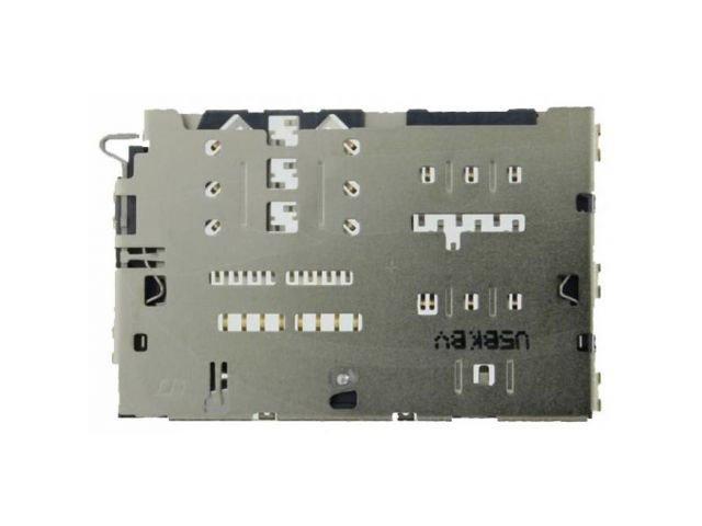 Suport cu cititor SIM si card Samsung SM-A310F, SM-A510F, A710F