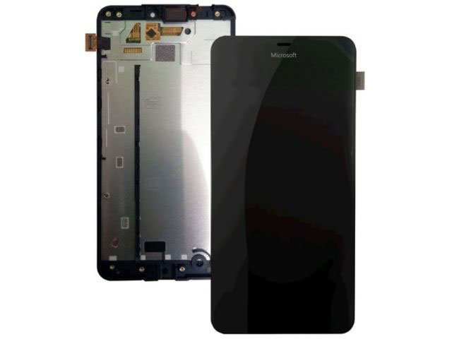 Display cu touchscreen si rama Microsoft Lumia 640 XL original