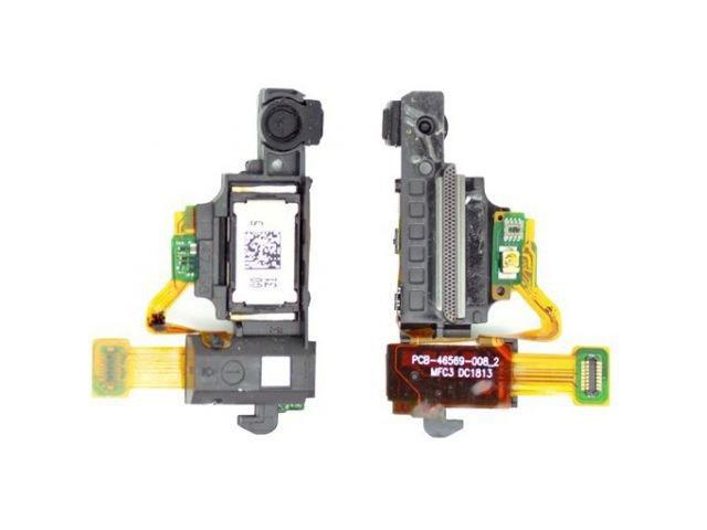 Ansamblu banda pornire cu senzori proximitate si casca BlackBerry Z10 original