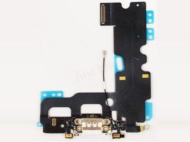 Banda cu conector alimentare Apple iPhone 7 alb