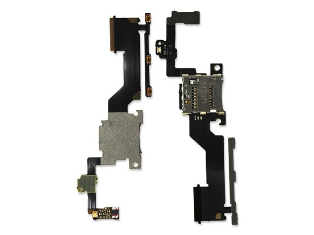 Banda volum cu cititor card HTC One M9 PLUS ORIGINALA