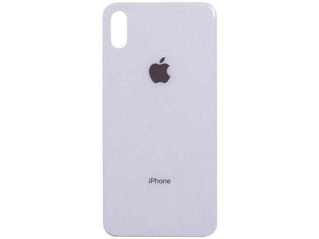 Capac baterie Apple iPhone X alb ORIGINAL