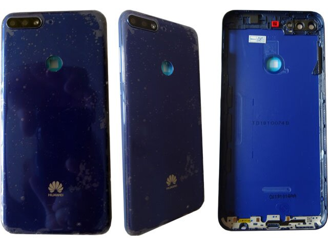 Capac baterie Huawei Y7 Prime 2018, LDN-LX1, LDN-LX2, LDN-L21, LDN-L22 albastru ORIGINAL