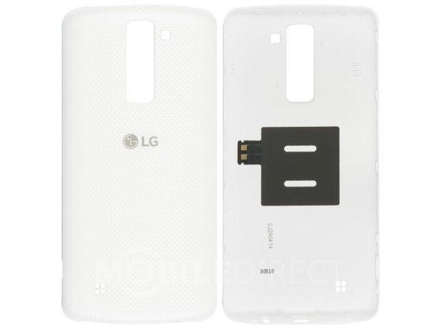 Capac baterie LG K350N, K8 alb original