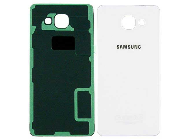 Capac baterie Samsung SM-A510F, Galaxy A5 2016 alb ORIGINAL